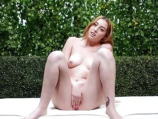 Melody Is A Delightful, Ginger Tramp With Pierced Nips Who Has A Thing For Black Guys