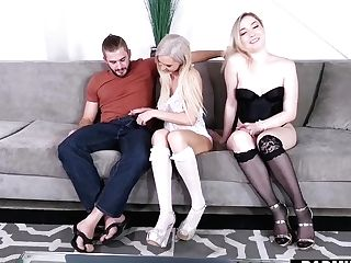 Two Sexy Cougars Zoe Parker And Astrid Starlet Fucks Pretty Boy Nathan Bronson
