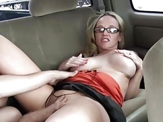 Wifey Fucks Stranger In Backseat