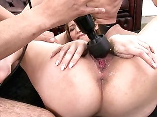 Beautiful Female Ayumi Kobayashi Is Fucking In A Threesome Orgy Activity