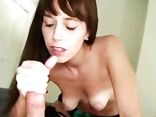 Sexy Brown-haired Cougar Point Of View Hand Jobs