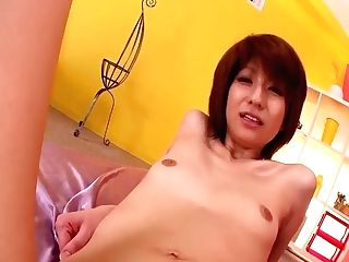 'cougar Japanese Rei Sasaki Amazing Fuck-fest And Suck Off - More At 69avs Com'