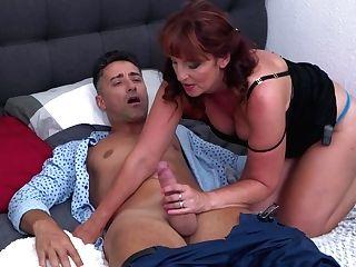 Mummy Next Door Loves Youthful Dick